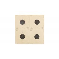 Cibles Papier Umarex 17X17 X1000