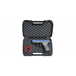 Pistolet Ppq M2 T4E Cal 43 Walther - Bleu