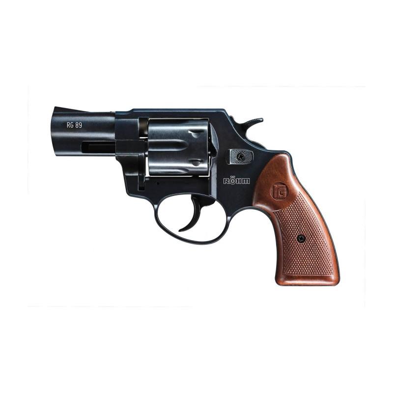 Revolver Rohm Rg 89 Cal 9 mm Rk - Noir