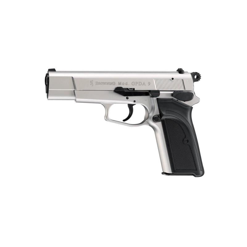 Pistolet Browning Gpda 9 Cal 9Mm Pak - Nickel