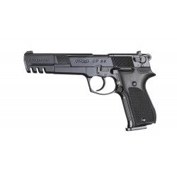 Pistolet Walther Cp88 Competition 5.6'' Noir Walther Co2 Cal 4.5Mm