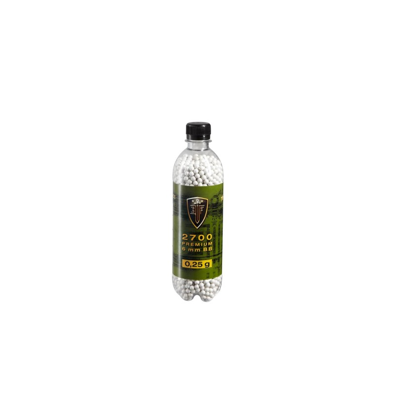 6mm Elite Force Blanche 0.25G Bouteille X2700