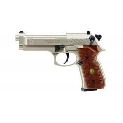 Pistolet Beretta M 92 Fs Co2 Cal 4.5 Mm - Nickel/Bois