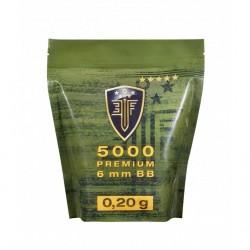 6mm Elite Force Blanche 0.20G Sachet X5000