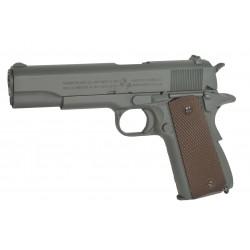 Colt 1911 100Th Anniversary parkerized GBB CO2 gris metal 6mm 1J