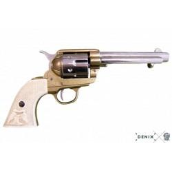 """Cal.45 Peacemaker 5½ """"Revolver États-Unis 1873 Denix"""