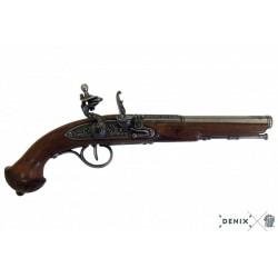Pistolet à silex 18ème siècle Denix