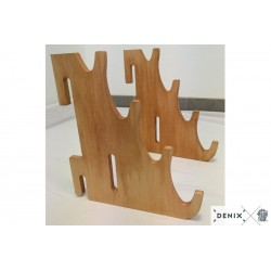 3 supports en bois Denix