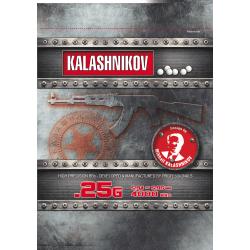 Billes KALASHNIKOV 0.25gr sac de 4000BBs