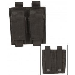 Porte Chargeur Pour Pistolet Double Noir
