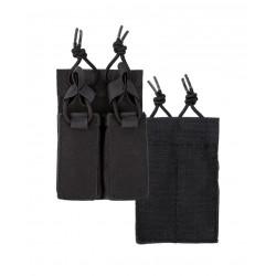Porte Chargeur Pour Pistolet Double A.Scratch Noir