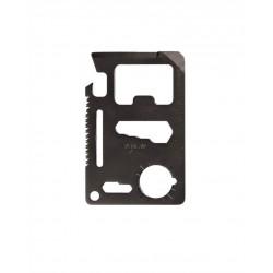 Tool Card Survival Noir Avec Étui