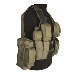 Gilet Tactical Vert (12 Poches)