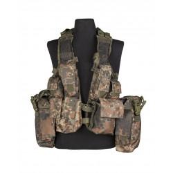 Gilet Tactical Bw Camo (12 Poches)