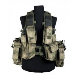 Gilet Tactical Mil-Tacs Fg (12 Poches)