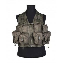 Gilet Tactical Vert (9 Poches)