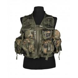 Gilet Tactical Bw Camo (9 Poches)