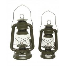 Lampe Tempête Pétrole Vert 28 Cm