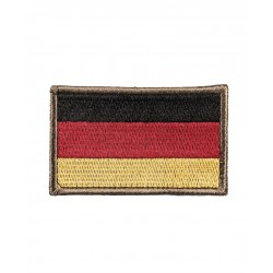 Insigne Bw Nationalité Textile Avec Scratch Grande