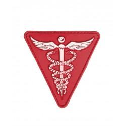 Patch 3D Medical Pvc Avec Scratch Rouge