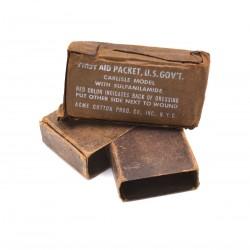 Pansements carton US WW2