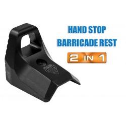 Hand stop barricade UTG